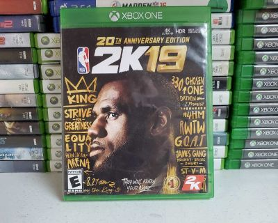 NBA 2K19 30th anniversary Xbox One