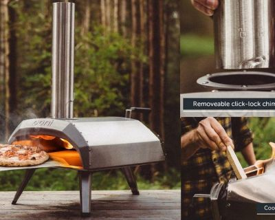 Portable Wood-Fired Pizza Oven