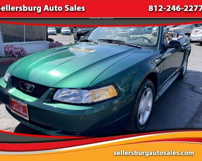2000 Ford Mustang GT Convertible 2D