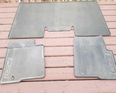 Rubber mats ford f-150