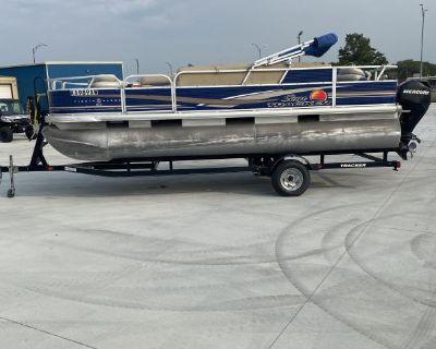 2012 Sun Tracker Fishing Barge 20 DLX