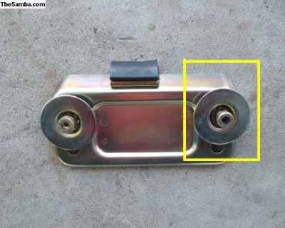 Porsche 911 Clutch Pedal Stop Hardware