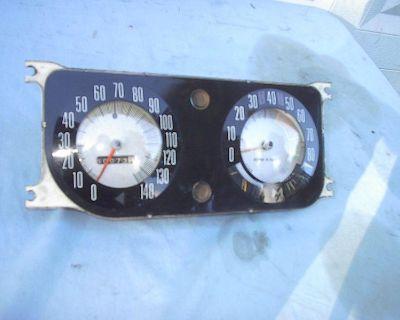 Amc Javelin Amx 140 Mph Speedo And 8 Grand Tachometer Dash Gage Fits 69 68