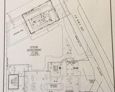 2100 SF NEW CONSTRUCTION END CAP DRIVE THRU