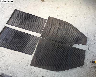 Original rubber floor mat 56-59