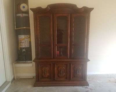 China Cabinet with a little damage