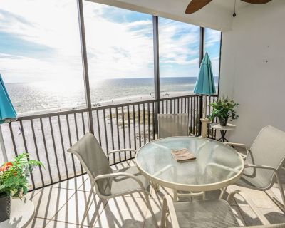 Welcome to Estero Beach Club East resort #504. This is a 2 bedroom, 2 bath condo right on the Gulf of Mexico - Fort Myers Beach