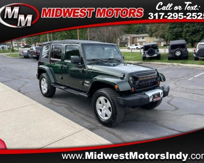 Used 2010 Jeep Wrangler Unlimited 4WD 4dr Sahara