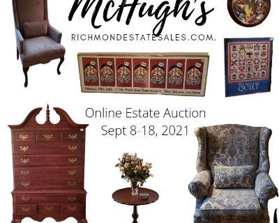 McHugh's Online Sirkis Williamsburg Kingsmill Estate Auction