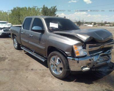 Salvage Gray 2012 Chevrolet Silverado 1500