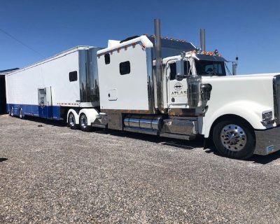 Kenworth/featherlite tractor trailer combo