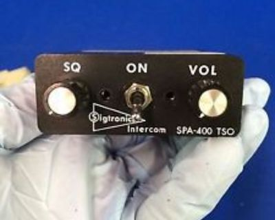 Sigtronics Spa-400 Intercom (0916-144)