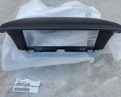 Subaru JDM Parts: S207 Center MFD Gauge Hood | SJ tS Fog Light Covers