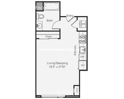 AVAILABLE NOW!! STUDIO/1BATH IN BACK BAY - PET FRIENDLY!!