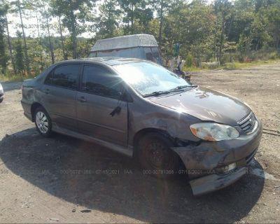 Salvage Tan 2004 Toyota Corolla