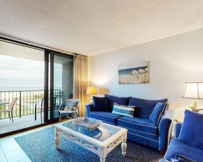 Sea Colony 5th floor condo w/ tennis court, elevator, and gym - ocean view! - Bethany Beach