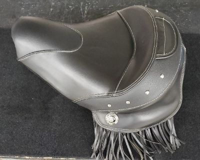 FS: Indian Chief/Chieftain/Springfield/Roadmaster Solo Seat with Fringe