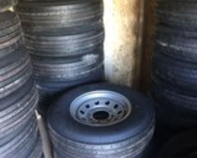 6 Lug Trailer Wheels and tires