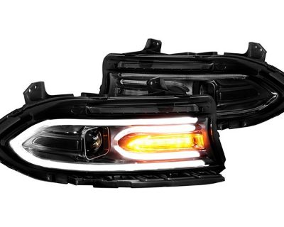 Make your Charger more visible with new CG LED DRL Bar Projector Headlights