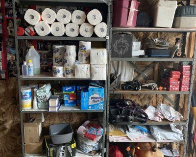FS Storage Racks and Drawer Table - Quality!