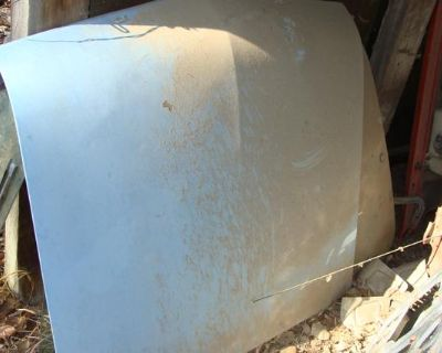 78 Ford Pinto parts hood, back hatch glass, and taillights