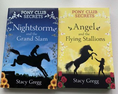 Pony club secrets (Nightstorm and the grand slam & Angel and the flying stallions