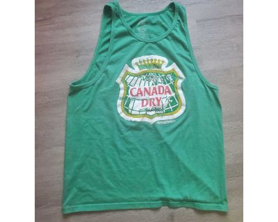 Tee Luv Canada Dry tank top - large