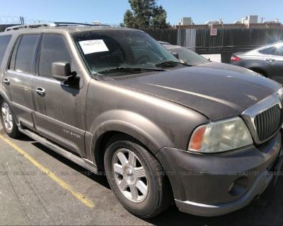 Salvage Gray 2003 Lincoln Navigator