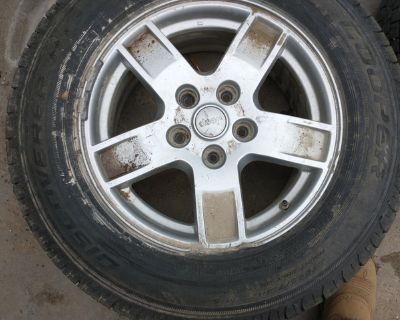 """17"""" tires and wheels LT225/75R17. 10ply"""