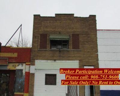Commercial Building 2 Unit Fixer Upper $19,900.