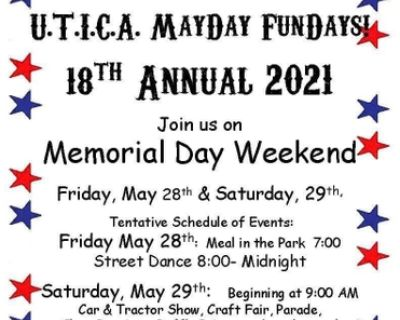 U.T.I.C.A. May Day