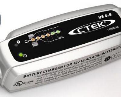 New Ctek 12v Battery Charger/maintainer Fits Husqvarna Lawn Mower Tractor Plug
