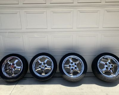 FOR SALE: 993/964 CUP II Wheels w/AD08R