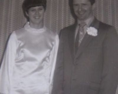 Happy 50th Anniversary to Laurie and Marie Wood