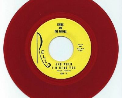 RICHIE AND THE ROYALS ~ When I'm With You*Mint-45*RARE RE...