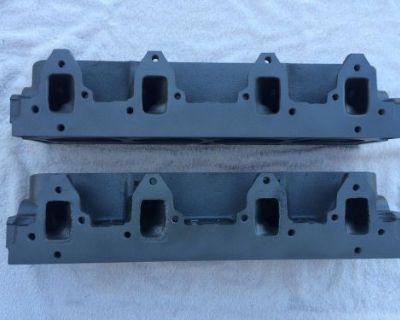 66-69 Ford Mustang Torino Gt500 390 428 Pi Gt Cylinder Heads Fe Shelby 14 Bolt