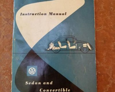 1954 Bug Owners Manual