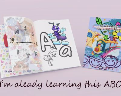 """""""I'm already learning this...ABC"""" Student activity book and coloring book for preschoolers"""