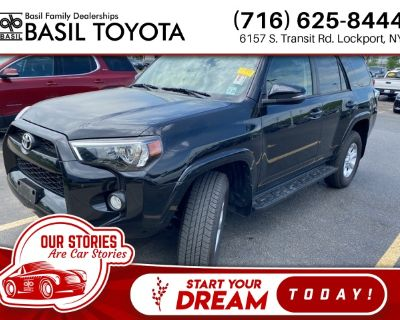 Pre-Owned 2018 Toyota 4Runner SR5 Premium With Navigation & 4WD