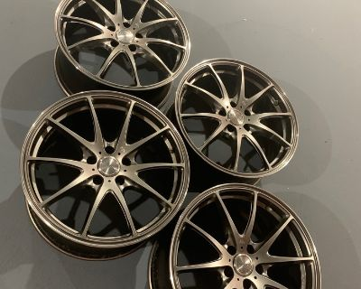 Volk Racing G25 FORGED - Mercury Silver - 5x112 - 18 x 8 +35 18 x 9 +45