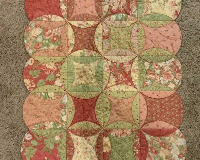 New quilted handmade play mat