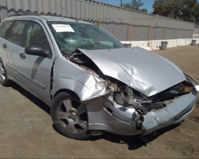 Salvage Silver 2003 Ford Focus