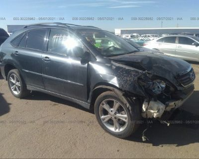 Salvage Gray 2007 Lexus Rx 400h