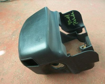 97 98 99 00 01 Honda Prelude Ignition Cover Cowling Black 97-01 Oem