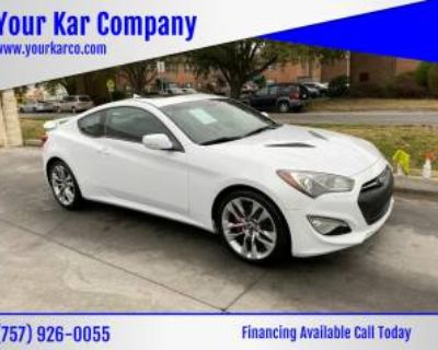 2015 Hyundai Genesis Coupe 3.8 Ultimate with Black Seats Automatic