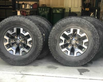 Toyota TRD Off-road Tires