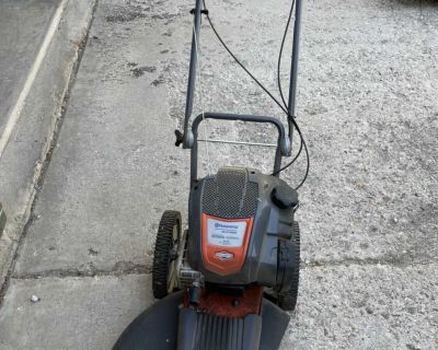 Husqvarna HU675HWT High Wheeled Trimmer Mower Off Galley And Peterson