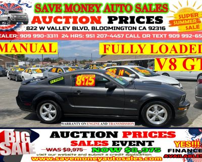 2008 Ford Mustang GT DELUXE> MANUAL> FULLY LOADED