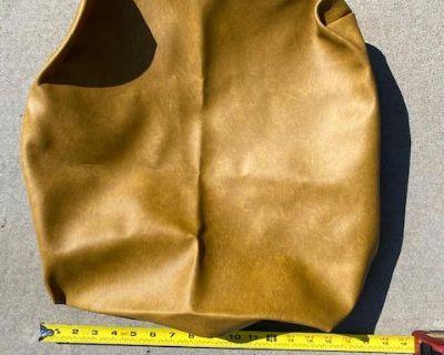 Westfalia Mustard Yellow Stool back material