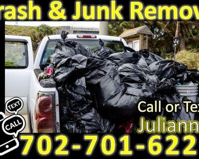 Junk & Trash Removal plus Dog Poop Removal & More